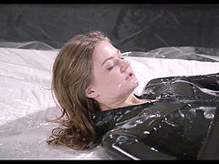 futanari Girl Wet spandex jack Off