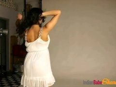 Indian Teen In Black Sexy Skirt Strip naked Showing Big tits