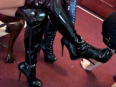 Princess Beverly Boot-Wipe Reward Female domination