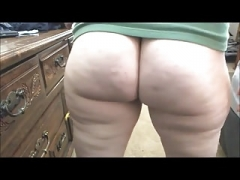 PAWG soaked asshole farting