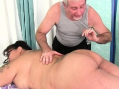 Immense boobed asian Adult bbw Miss Lingling gets a sex massage