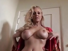 Ultimate Sexually available mom Julia Ann is stripping naked and moreover trying on lingerie!