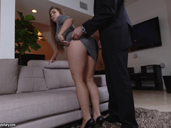 Lena Paul feels good being fucked by a rich male