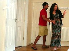 Desi bhabhi molested, abused and forced to have lovemaking with neighbour, rough intruder drill chudai no mercy NRI mummy scandal hindi story POV Indi