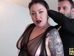 Bound Mom i`d like to fuck Jess Scotland dominated and roughly fucked