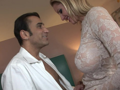 Gal in lace Zoey Holiday gets fucked in a hotel bed