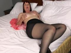 czarny nylon sex