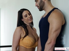Angela White,Damon Dice My Girlfriend's Busty Friend