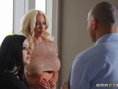 Cheating porn video featuring Stirling Cooper and Nicolette Shea
