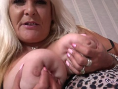 Auntie Christina Strokes & Sucks You Off POV