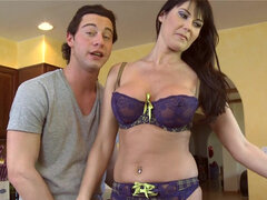 Latina milf Raylene knows how to take care of a horny man