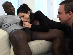 Cuckold Couple three-way Interracial