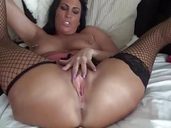 Sexually available mom Takes Big Toy and furthermore Fucks Ass