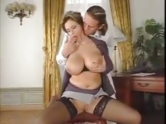 Eager mom with a hooters sex