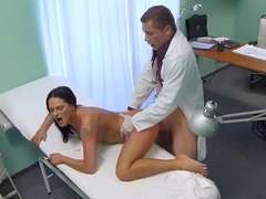 Blonde chick gets pounded in hospital