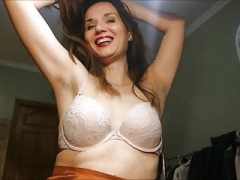 Excited Italian Wife Teasing Armpit Lovers