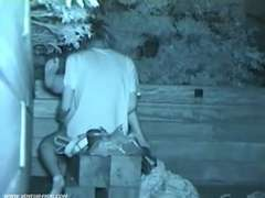 Hidden cam At Night Park Hook-Up