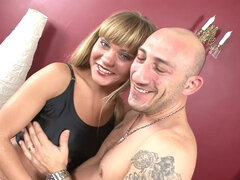 Fun With Nice Blond Hair Lady - nestee shy