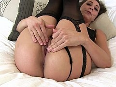 Stepmom getting down and dirty her horse-hung stepson