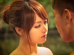 Fabulous Japanese chick in Crazy HD, Outdoor JAV scene