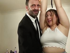 British Real bbw rammed & punished by kinky more experienced man