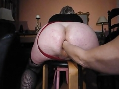 Sizeable Ass fist have an intercourse and pissed on by the Mistress