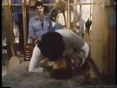 Vanessa Del Rio & Mates Give head & Get down and dirty On The Job latina cumshots latin swallow brazilian mexican