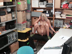 Advanced interrogation tactics are used to retrieve the stores property from Allie Nicole