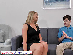 super-naughty America - Nicole  (Elle McRae) needs some youthfull fuck-stick