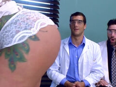 Milf Ryan Conner double teamed for ZZ Clinical Study