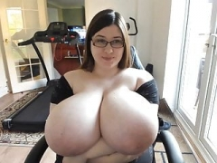 Large Jug webcam kitten BBW