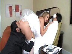 Alanah Rae is a hot bride who gets a sizeable cock for her pleasure