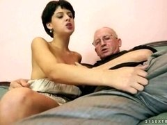 Grandpas Fuck 18-19 year-old chicks Compilation 3