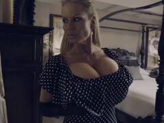 Big tits milf Kelly Madison rides a big dick during a livestream