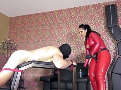 latex dom get down and dirty menial
