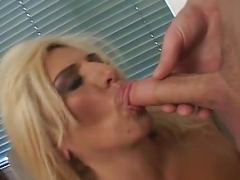 Hirsute grown-up blond bbw rectal fucked