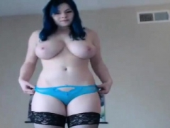 White 18-19 y.o. bbw bigtitted hot blue