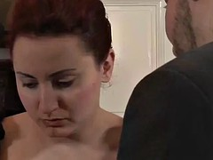 housemaid tricked into kinky family sex
