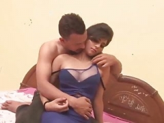 Indian handsome boy sex romance with Female friend in a room