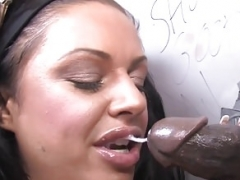 Kerry Louise Deepthroats and additionally Bangs BBC - Gloryhole