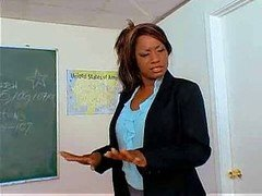 Big Black Butt Teacher Ms. Cinna Bunz