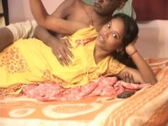 Indian inexperienced couple sex tape
