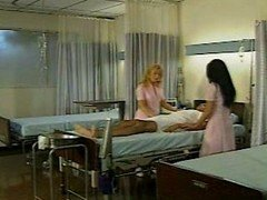 Asia Carrera and additionally Nina Hartley in and additionally#039;Night nursesand additionally#039;