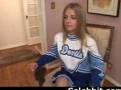 Anita Blue  Cheerleader Audition 1