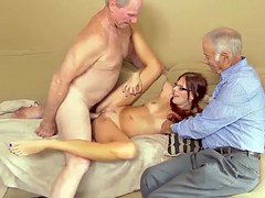 Inexperienced wife handjob compilation Frankie And The Gang Take a