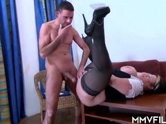 Big Titty Wife Secretary Gets Humped