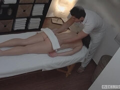 Massagist Has Joy With His Lovely Client