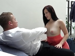 Weliketosuck - Face getting down and additionally dirty and additionally cumshot fun for Ella Martin