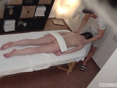 Horny Doll Lured By Massagist