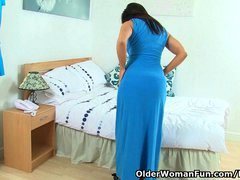 Buxom MILFs and cougars perform crazy actions